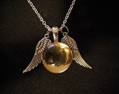 Hermione's Snitch Necklace