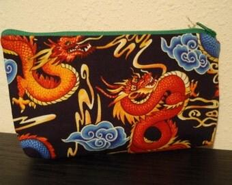 Dragon Zipper Pouch - Small