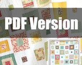 PDF Pattern, Skipping Squares Quilt