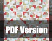 PDF Pattern, All Patched Up Quilt