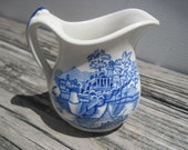 Bombay Maddock England Pitcher Hand Engraved