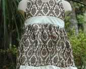 """SALE -Summertime Swing Halter Dress - """"gone with the wind"""" 2T"""