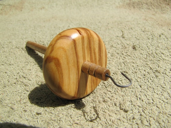 0.35 oz. Olivewood Mini Drop Spindle 831