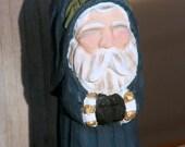Handcarved Santa Claus Ornament