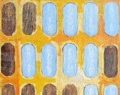 abstract painting pattern repetition acrylic