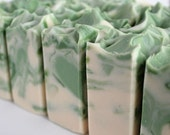 LAST ONE Wild Mint Soap - Handmade Cold Process - Limited Edition