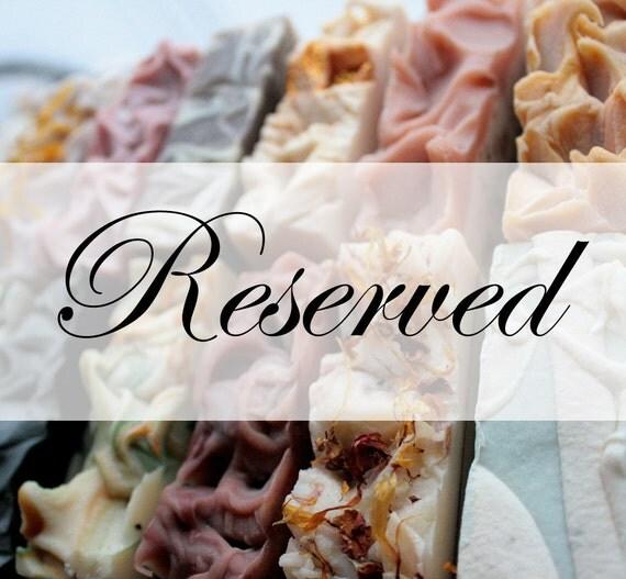 Reserved - Custom Listing for Lori