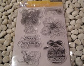 Penny Black Banner of Joy set of Clear Unmounted Stamps - 6 pieces