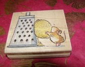 Life Gives You Lemons Mouse wood mounted Rubber Stamp from Penny Black EtsySale