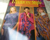 Ribbon Style Knitted Fashions and Accessories by Cheryl Potter - Fabulous Book for Knitters