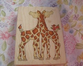 Scratch my Back wood mounted Rubber Stamp from Whipper Snapper