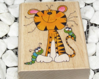 My Bengal Tiger wood mounted Rubber Stamp from Penny Black