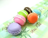 Mini Macarons Stitch Markers (Set of 6)