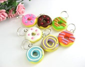 Fun Donut Stitch Markers (set of 7)