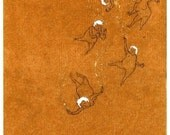 Gold Dust Girls (Print) RESERVED FOR BUYER: abharao
