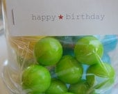 RESERVED listing for Clare--40 little bags of gumballs