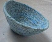 Itty Bitty Windswept Blue Bowl