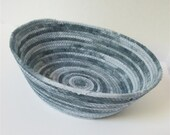 Large Grayscale Bowl-- Priority shipping