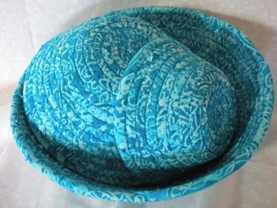 Turquoise Bowls Set of Three