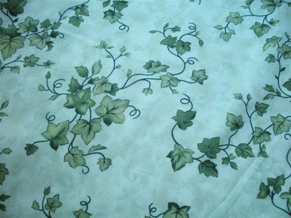 Ivy Vines Fabric-- One and One-half yards