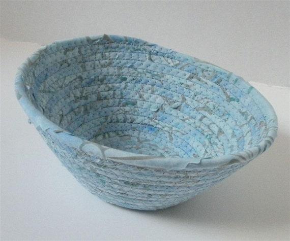 Medium (almost) Windswept Blue Bowl