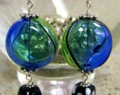 RESERVED FOR SHELLY  BUY ONE GET ONE Sale  Stained Glass earrings