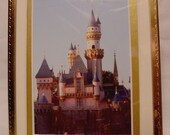 photography DISNEYLAND CASTLE at Dusk Fine Art 5x7 Double Matted PHOTOFree Shipping in US