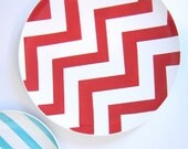 Chevron Serving Platter Extra Large- Choose Your Pop of Color by Aedriel Originals