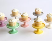 Cupcake Pedestal by Aedriel Originals- Ceramic Kiln-Fired  and Packaged for Gift Giving or Favors