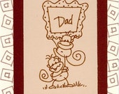 Cute Handmade Fathers Day Greeting Card