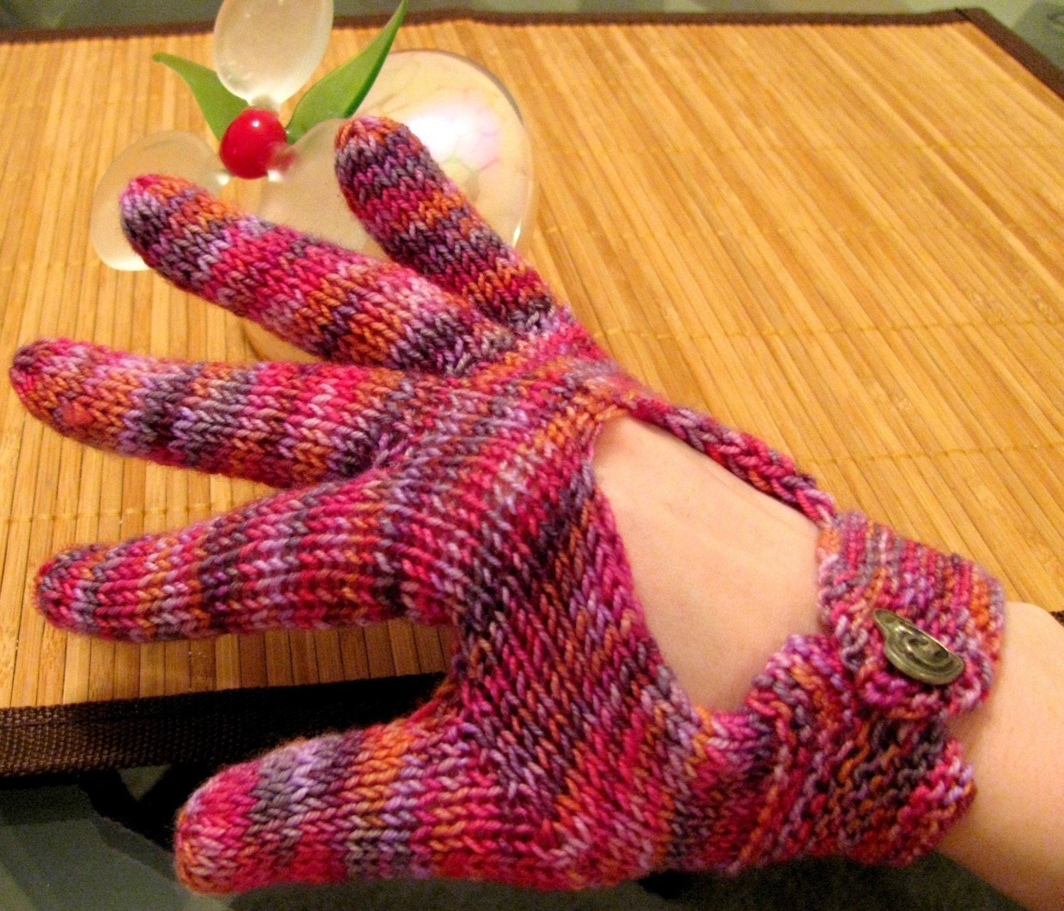 Hand Knit Pattern Driving Gloves Knitting by VanessaEwingKnits