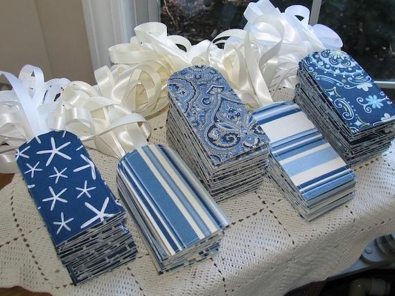 100 You Choose The Fabric Custom Luggage Tags Wedding