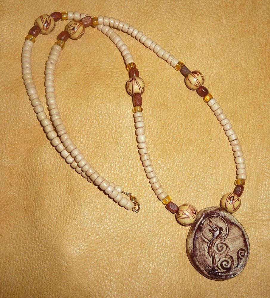 Wolf totem necklace - photo#8