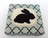 Bunny Rabbit Silhouette Wall or Shelf Art