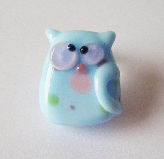 Lampwork Cat Kitten Bead Jimmie Kooky Kitten by keiara SRA