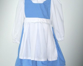 Belle's Country Dress from Beauty and the Beast Size 8-12