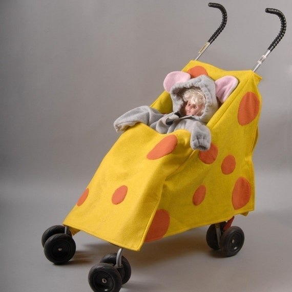 Really Cool Mouse and Cheese Stroller Cover and Costume