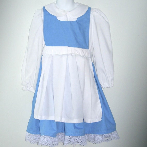 Belle's Country Dress from Beauty and the Beast Size2-6