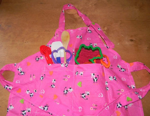 Child's Cooking Apron Free Shipping