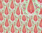 LAST 1 Yard - Blush Amy Butler Love Cypress Paisley - AB47