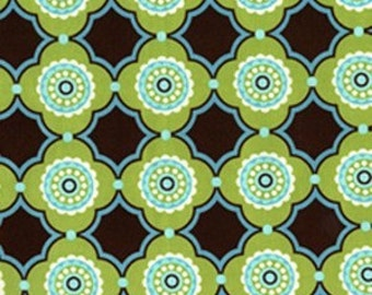 OOP Brown - Michael Miller Large Flower Doodle - DC4091 100% Quilters Cotton Available in Yards, Half Yards and Fat Quarters