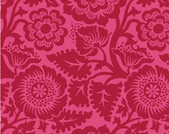Heirloom - Blockade  Blossom - Crimson JD48 100% Quilters Cotton Available in Yards, Half Yards and Fat Quarters