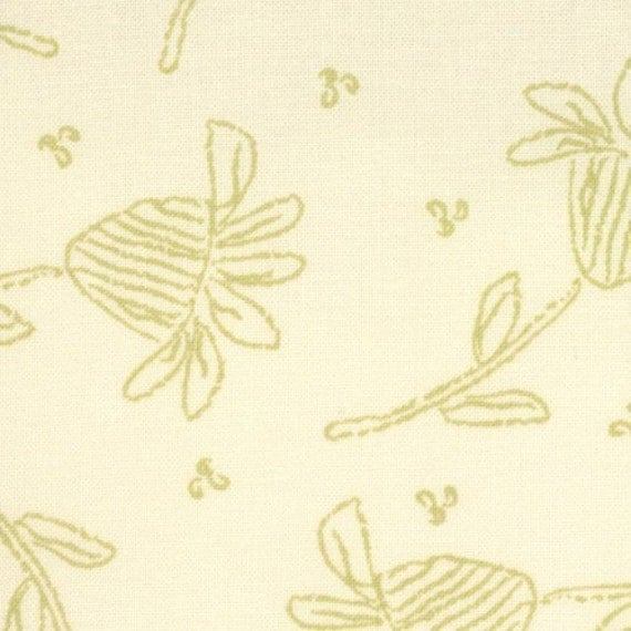 SALE 1 yard - Authentic Fresh Natural Sprout Moda Sweetwater 5413 12