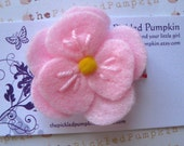 Store Closing Coupon Code 35 percent Pink Felt Flower Clip