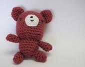 Pink Bear Amigurumi