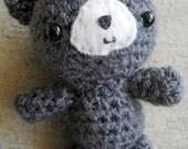 Reserved for jinegong - Gray Bear Amigurumi