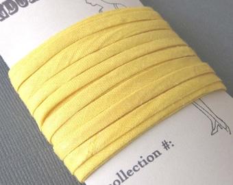 Vintage Bias Binding Trim in Sunshine Yellow