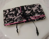 Jewelry Roll / Travel Case by Sew Wrap It