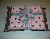 Reusable fabric gift wrap (rectangular box set of 3) by Sew Wrap It