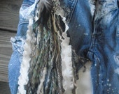 Hippie Chic In Flight Forest Feather or plain Pocketbook or Jean Charm - choice of